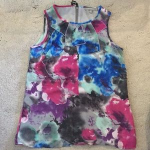 NY Collection sleeveless blouse size small.
